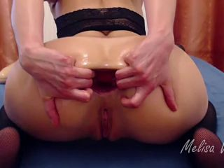 Melisa Wide monster toy, triple anal and huge prolapse / Video price ...