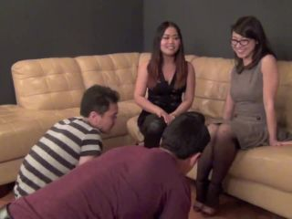 ASIAN MEAN GIRLS  THE NUTCRACKERS. Starring Astro Domina [BALLBUSTING]