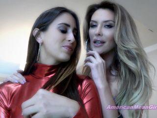 American Mean Girls – Goddess Brooke, Princess Beverly – Mean Girl Push Ups