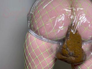 Sophia_Sprinkle - Gorgeous Clear Panty Poop Making Stwinkies [FullHD 1080P] - Screenshot 2
