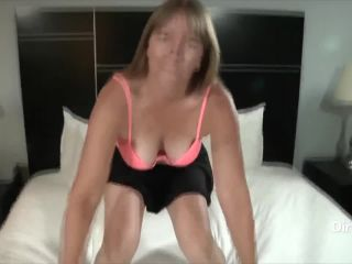 Milf makes first porn with dirty stranger