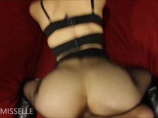 Little Miss Elle - Collared BJ Fuck and Facial