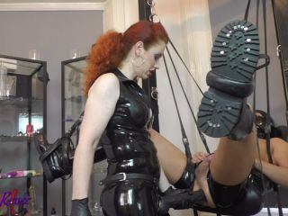 Mistress Lady Renee — Gimp In The Sling (720 HD) — Ass Fucking, Bondage