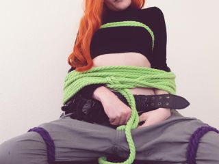 4k video - Tweetney - Kim and Shego All Tied Up