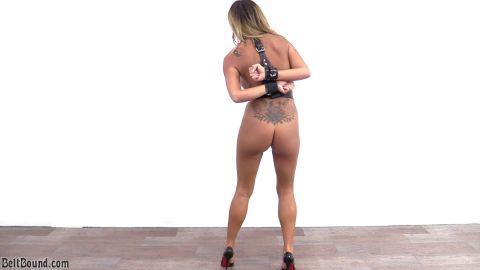 Natalia Forrest - Rage Against The Box Tie Armbinder (1080p)