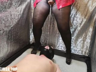 Femdom Pissing Standing into his Mouth [HD 720P] - Screenshot 6