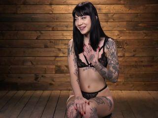 Sexy Goth Slut Charlotte Sartre Gets Machine Fucked In Bondage (Release date: