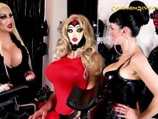 Carmen Rivera – Fuckdown Part 2 – Vaccinate My Ass Scene 2 – Bondage