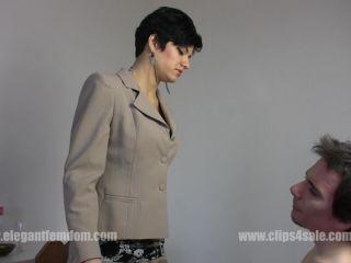 Elegant Femdom - Mistress Roxanne - Face Slapping (1080 HD)