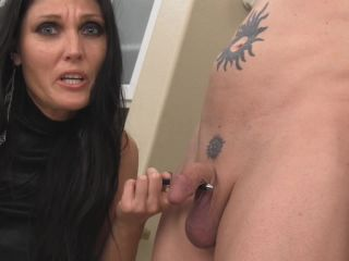 Chastity – Obey Melanie – Even small dicks need to be jerked