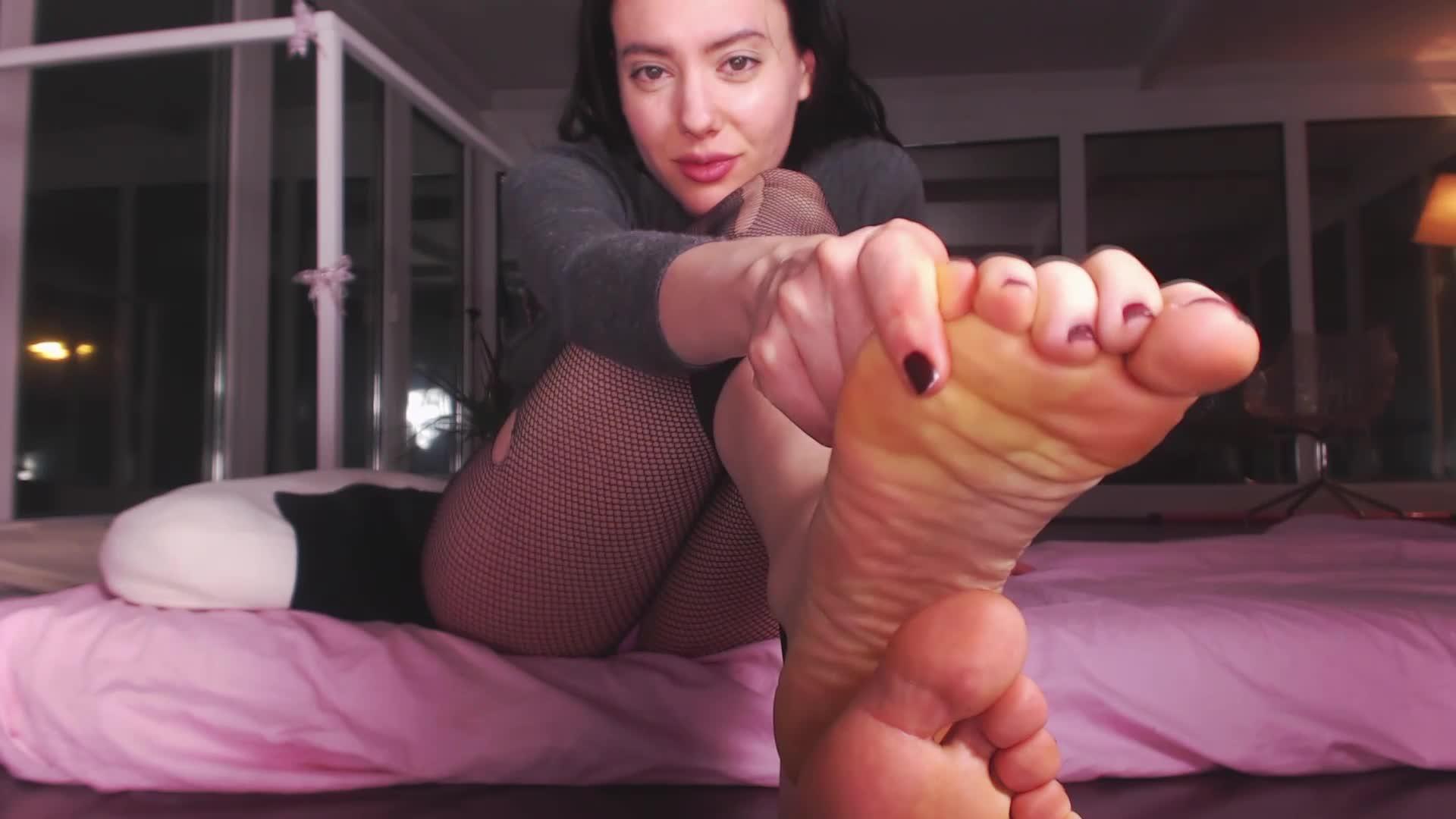 Male Slave Serving Mistress