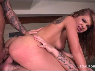 Online Video Renata Fox – (LegalPorno) – Sex starlet Intensely Fucked by 3 in Extreme airtight DP FS022 double penetration