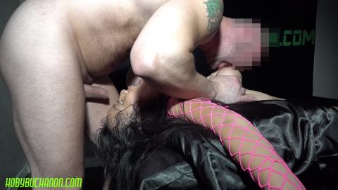 Luna Mills - Big Tits Gets Her Throat Destroyed [FullHD 1080P]