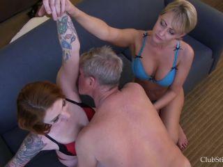Club Stiletto FemDom  Tasty Pits  Starring Mistresses Kandy and Olivia Rose