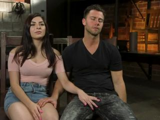 All Natural Pain Pig Keira Croft Squirts in Rope Bondage