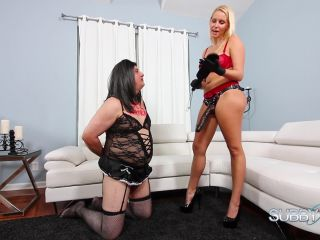 SubbyHubby – Becoming Vanessa's Servant Part 5: Ass Stretching
