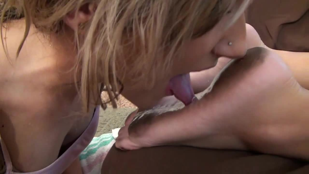 Dirty Feet Licking Italian