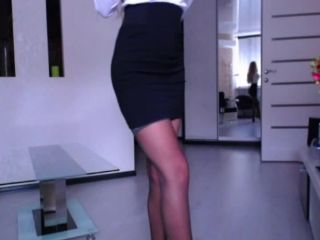 ManyVids Webcams Video presents Girl AriannaSecret in 008 Secretary Strip