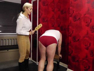 Miss Jessica's Punishments UK — Paddle fun