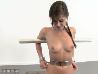 Little Caprice on the Sybian - MetalBondage.com - BDSM