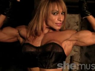 Karina – She's Ripped Everywhere.  See For Yourself.