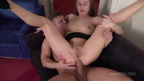 Top model Jenny Manson after Oscar ceremony hard fucked in the ass + anal squirt + anal orgasm + anal gape VK026 [HD 720P]