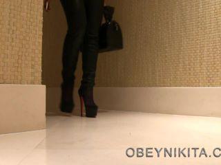 Shoe Worship – Mistress Nikita FemDom Videos – Obey Nikita – Eat From My Sole, Bitch