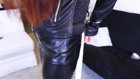 Mina Salome, Lola Anderson - Two Redhead Spies In Leather Get Tied Up (1080p)