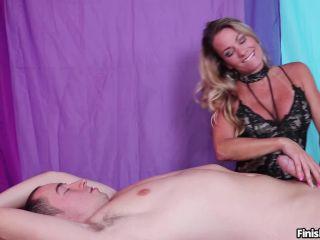 FinishHim presents Goddess Allura Sky in Cum On Your Face