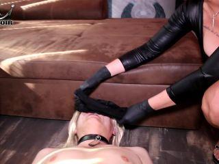 Cherie Noir - Facesitting Victim Exploited For Lick [FullHD 1080P] - Screenshot 1
