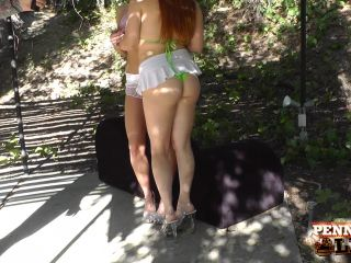 BTS Video Making Out In The Shade! 1 920 Christie Stevens,Penny Pax