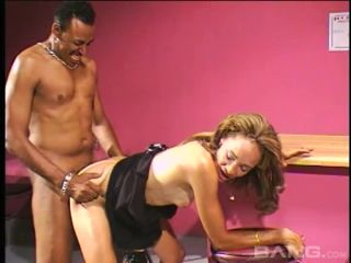 Horny Ebony Slut Gets Drilled In The Pussy Ass And Mouth And Given Fac ...