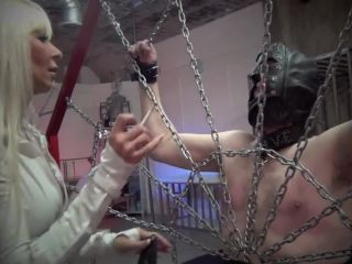 DomNation  A GOOD DAY FOR A BEATING. Starring Mistress Storm