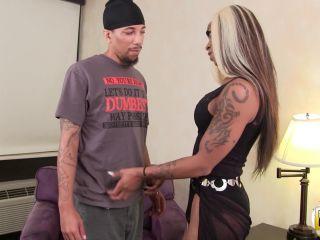 Online shemale video Salina Samone Pounded By Mister