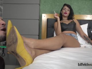 Shoes – Bffvideos – Goddess Spring Real Sweaty Feet Pt.1