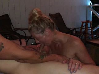 ManyVids presents TianaLive in hollyhotwife — Getting Fucked On The Patio