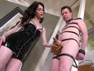 VICIOUS FEMDOM EMPIRE - Mistress Evelyn - Hands Free Orgasm!!!