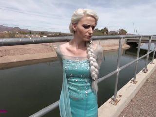 Movie title Queen Elsa captured