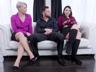 families tied: march 29, 2019 – seth gamble, helena locke, ivy lebelle/therapist caught scamming her slutty step-daughter's ass
