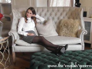 Miss Miranda Scarlot thrashes the pervy gardner