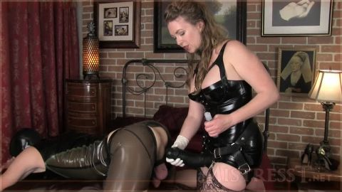 Mistress t prostate massage, pegging and ass fucking with strap-on sla ...
