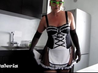 Hotvaleria – French Maid Is Penetrating Her Huge Cunt