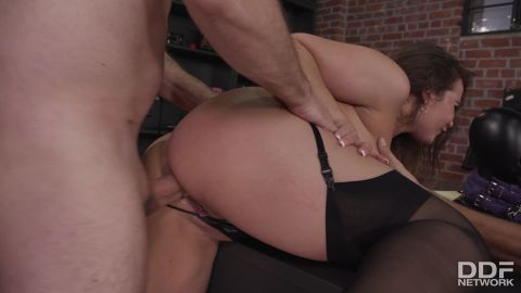 Natasha Nice - Anal Explorations At The Office [FullHD 1080P]