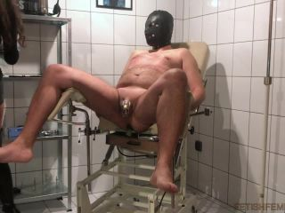 Boot Fetish – Miss Melisande Sin – CBT treatment at House Of Sin Clinic by Two Mistresses