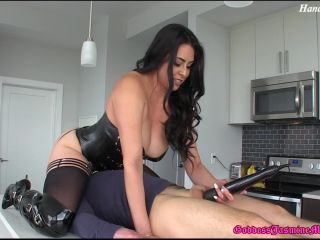 handjob - Ass Smo-the-ring   Orgasm Denial – Jasmine Mendez