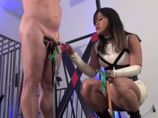 [Femdom 2018] Asian Cruelty  THE CANES OF HIS EXISTENCE. Starring Astro Domina [CANING]