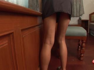 Mary Strokes Her Erection