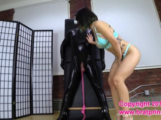 Brat Princess 2  Alexa  Slave Strapped to Table Forced and Ruined