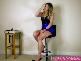 WorshipAmber – Bound Boyfriend Surprise