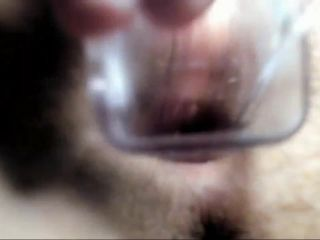 Webcam girl with hairy pussy stretched her anal gape and speculum porn too